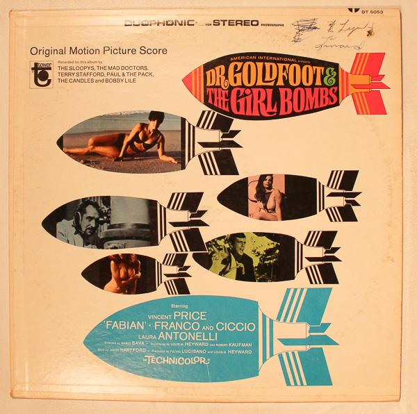 Various Dr Goldfoot The Girl Bombs Original Motion Picture Score