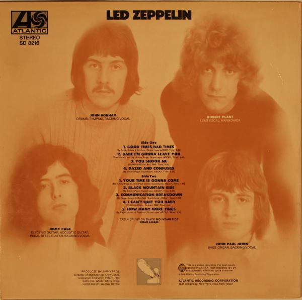 led zeppelin self titled - photo #29